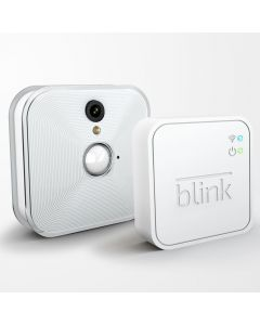 blink: Indoor Hd Camera And Sync Unit Starter Set Two Pieces White