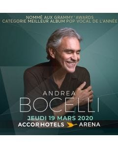 Andrea Bocelli - Paris - 19 March 2020