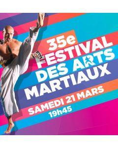 35th Festival of Martial Arts - Paris - 21st March 2020