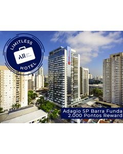 LIMITLESS HOTEL - ADAGIO SP BARRA FUNDA (1 NIGHT WITH BREAKFAST + EXCLUSIVE EXPERIENCE)