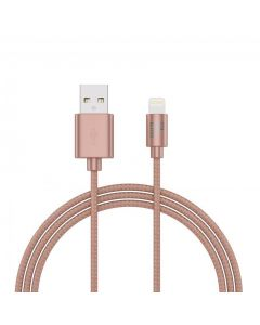 BeHello Charge and sync cable USB / Lightning- Rosegold