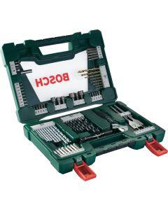 Bosch V-Line Tin Drill And Bits Set 83Pcs