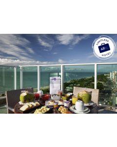 LIMITLESS HOTEL – MERCURE MACEIÓ (DIÁRIA COM CAFÉ DA MANHÃ + EXPERIÊNCIA EXCLUSIVA)