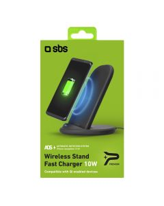 SBS Mobile Desktop Stand QI-Wireless Charger 10W