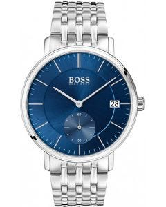 Hugo Boss Corporal Silver Stainless Steel Watch