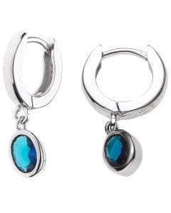 Jograbo Hoop earrings silver