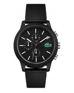 Lacoste 12.12 Black Silicone watch
