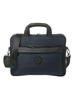 Christian Lacroix Element Navy briefcase