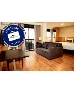 LIMITLESS HOTEL - MERCURE CURITIBA SETE DE SETEMBRO (1 NIGHT WITH BREAKFAST + EXCLUSIVE EXPERIENCE)
