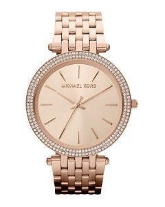 Michael Kors Darci Round Rose Gold Watch