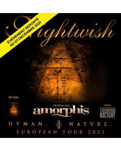 2 Plätze - Nightwish - 7. Dezember 2021 - Loge ALL