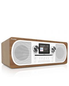 Pure Evoke C-F6 Walnut Bluetooth DAB Radio