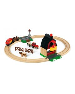 Brio Train Set With Farm