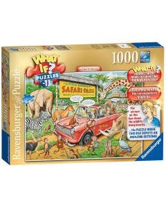 Ravensburger 1000 Pc Jigsaw Puzzle What If Safari