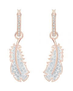 Swarovski Naughty Hooped Pierced Earrings